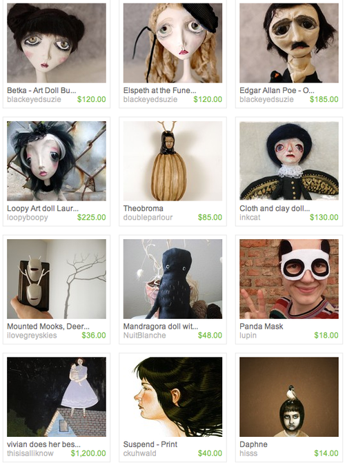 Doll treasury