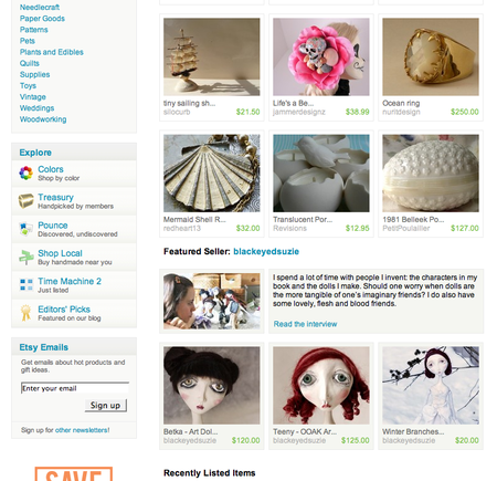 Featured seller screenshot