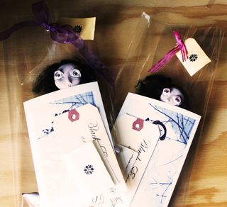 Dolls wrapped