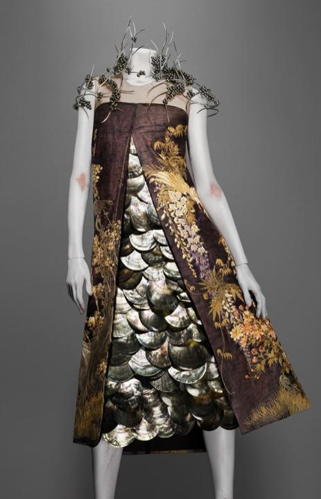 Mcqueen asian dress